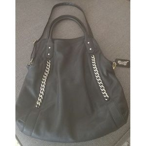 Carlos Santana Ladies Black Bag